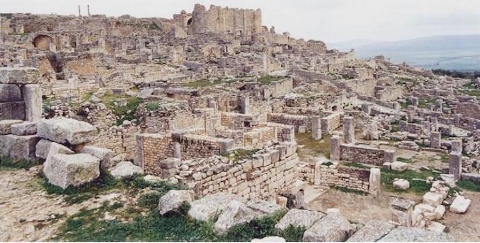 Thugga, northern Tunisia