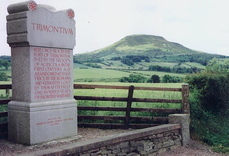 Trimontium fort
